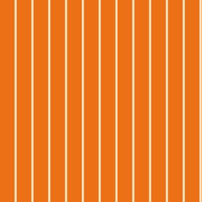 Rainbow Owlie Stripes - Orange