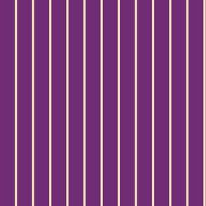 Rainbow Owlie Stripes - Violet