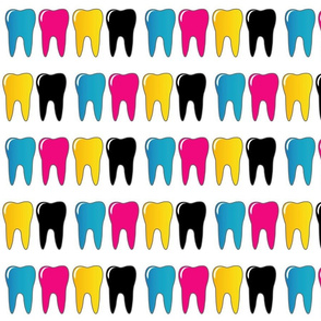 CMYK tooth