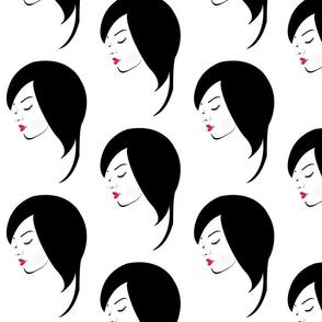 Short hair hairstyle woman