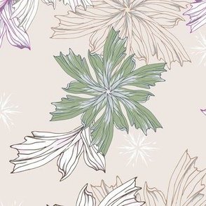 Provence floral pattern