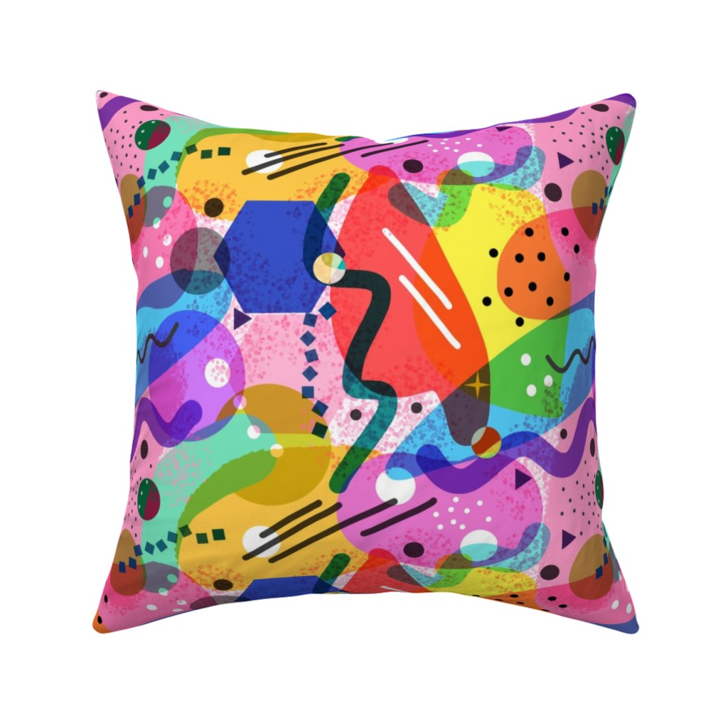 Catalan Throw Pillow featuring Ice Cream Party!  With all the toppings... :-))  by bravenewart