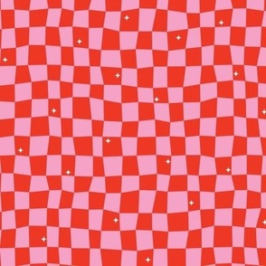 Groovy Grid-Red (Jolly)