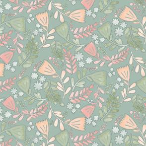 Floral_green_mint