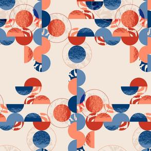 Abstract circles-CREAM