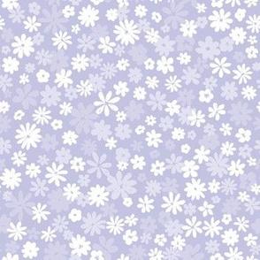 Lavendar florals