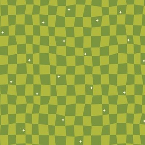 Groovy Grid-Green (Frontier)