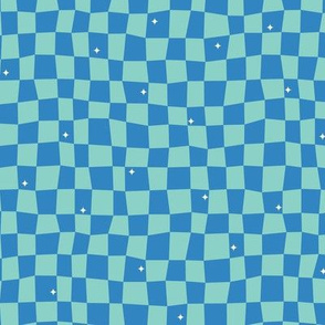 Groovy Grid-Blue (Frontier)