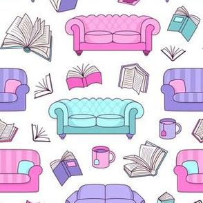 Books and Sofas