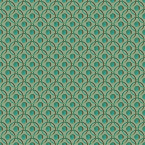 Geometric Green Background