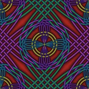 Jewel Tone Interlace