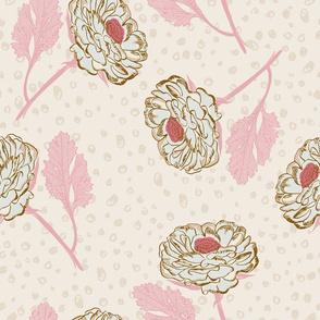 Ranunculus - Pink Leaves