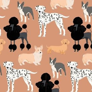 Dogs - Burnt Orange