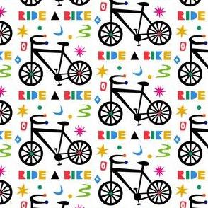 ride a bike OK