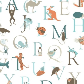 Animal Alphabet-large scale