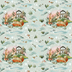 River Float Fabric