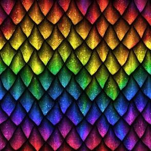 Dragon Rainbow Scales