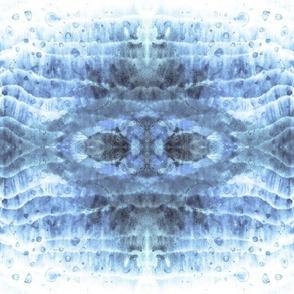 Quiet Blue Waves-12in