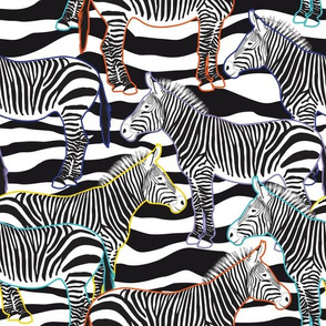 Crazy Zebra (White)