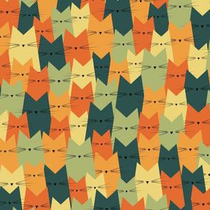 cats - nala cat crowd vintage