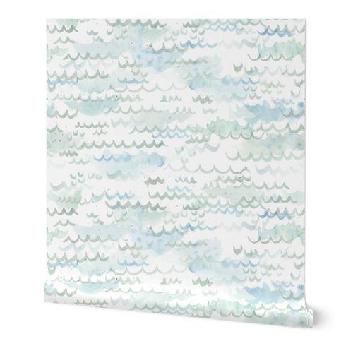 Watercolour Waves - Larger