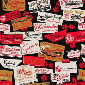 Hawaiian Shirt Labels 1a