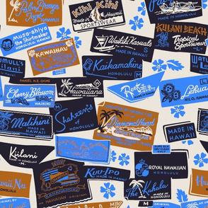 Hawaiian Shirt Labels 1c