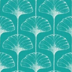 Ginkgo Leaf Art Deco - Large Sclae