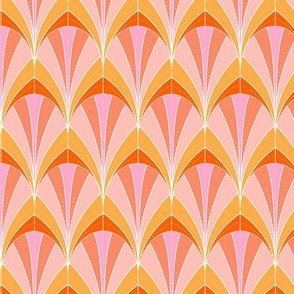 Art Deco Rocket // Tropical