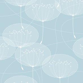 big dandelion modern deco light sky