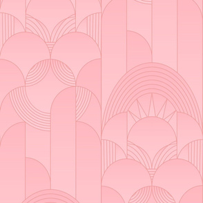 Blush Art Deco