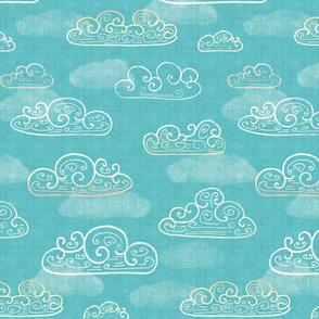 Quiet clouds