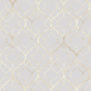 Abstract geometric moroccan pastel seamless pattern