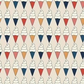 Hot Summer Ice Cream Cones - small scale