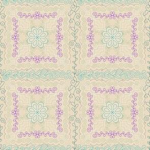 Quiet Spaces | Hygge Cozy Patchwork Blanket