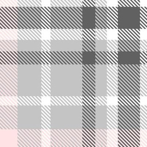 gray and pink, large scale L