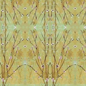 flores cerezos pattern arbol acoplado3