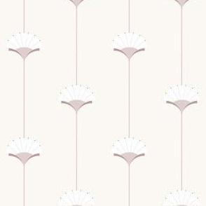 Neutral deco blooms