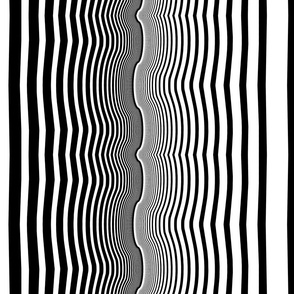 Onyx & White Agate Stripes