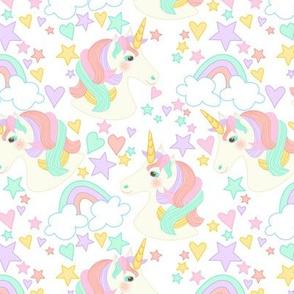 Nicola Unicorn Ditsy