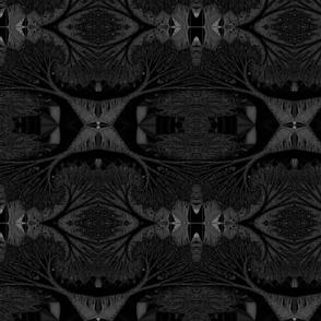 """Obsidian Velvet  Reflections -  22"""""""