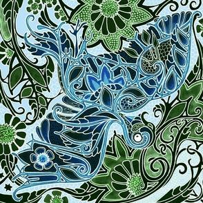 The Blue Bird of Hippieness
