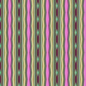 Mint diamond Pinch Stripe