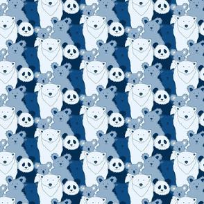 Little Bears in Blue