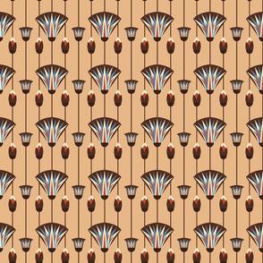 Egyptian lotus deco