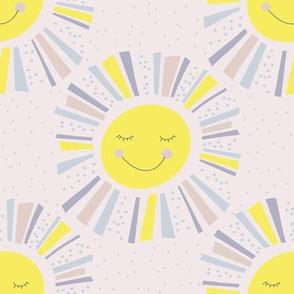 Sunshine - Pastel