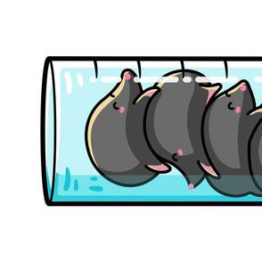 Moles Per Litre Cute Chemistry Science Joke Tea Towel