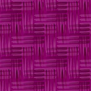 Abstract Weaving Fuchsia
