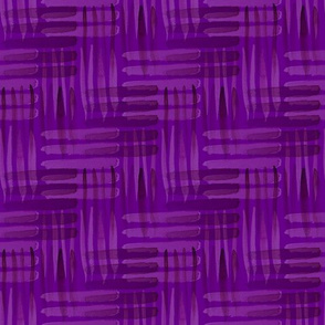 Abstract Weaving Purple