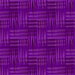 Abstract Weaving Purple